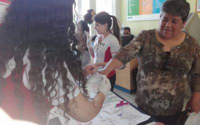 Campus San Felipe: Actividad de prevención del cáncer de mamas