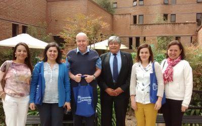 Visita Internacional de la Alta Escuela Vinci de Bruselas del Instituto Parnasse – Isei, Bélgica en nuestra escuela