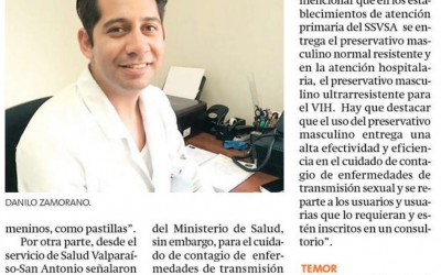 [Mercurio de Valparaíso] Poco y nada se sabe del condón femenino en la zona
