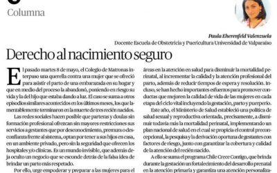 [Mercurio de Valparaíso] Derecho al nacimiento seguro