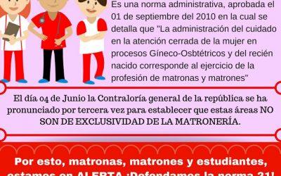 Norma 21: El escenario nacional que afecta la matronería en Chile