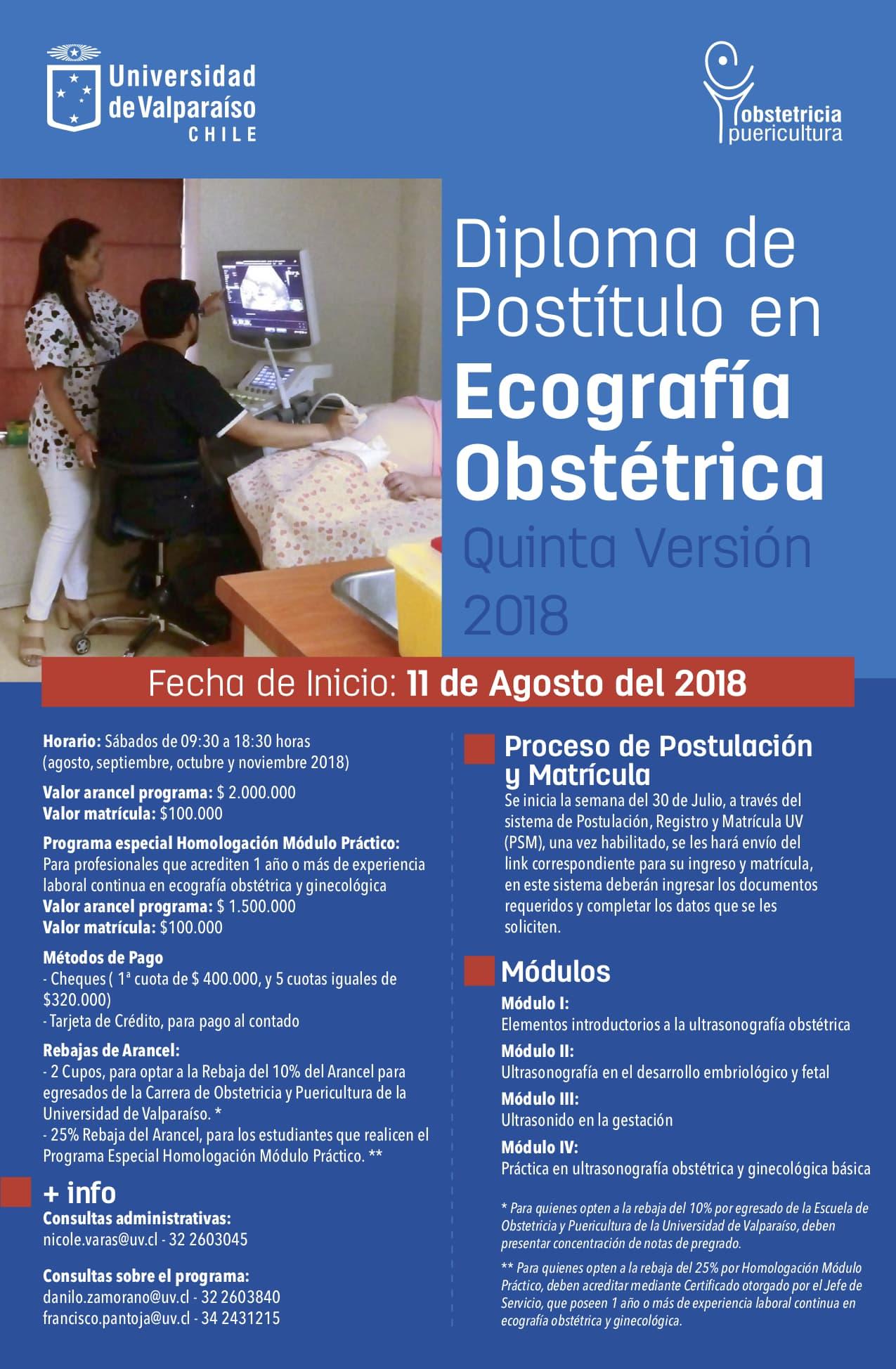 Diplomado en Ecografía » Escuela de Obstetricia y Puericultura