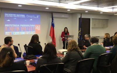 Inauguración encuentro nacional de Directoras(es) de Escuelas de Obstetricia y Puericultura