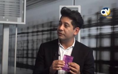 Profesor Danilo Zamorano entrevistado en Quintavisión sobre el tema del aumento del VIH/SIDA