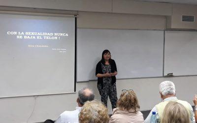 Prof. Maritza Cofré expone en conversatorio de la Escuela de Verano para personas mayores 2019 organizado por la  PUCV y la I.M. Valparaíso