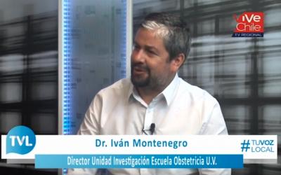 Entrevista al Profesor Iván Montenegro en Quintavisión sobre el Congreso Futuro 2019