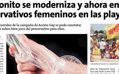 Entrevista al Profesor Danilo Zamorano sobre el condón femenino en la Estrella de Valparaíso.
