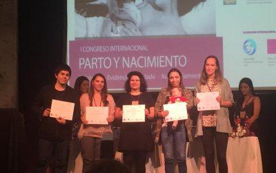 Nuestra escuela participa en el I Congreso Internacional de Parto y Nacimiento