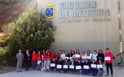 Estudiantes de Obstetricia se certificaron como promotores voluntarios y solidarios de donación de sangre