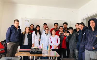 Actividad educativa en Colegio Viña del Mar College