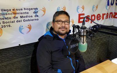 Entrevista al Profesor Francisco Pantoja en la Radio Encuentro San Felipe