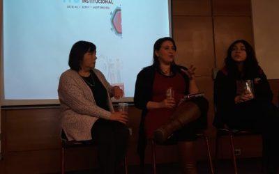 """Las profesoras Maritza Cofré y Patricia Rodríguez participaron en el foro: """"ITS, una mirada institucional"""""""