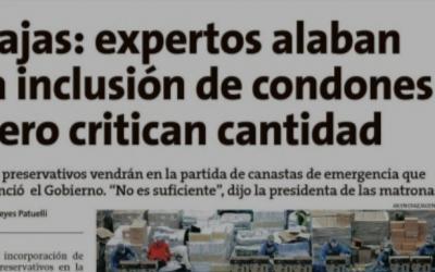 Prof. Danilo Zamorano habla en la Estrella de Valparaíso sobre la inclusión condones en las nuevas cajas de ayuda