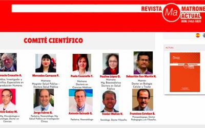 Escuela de Obstetricia presentó la primera revista científica digital de Chile dedicada a la matronería
