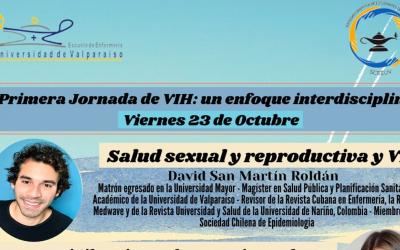 Prof. David San Martín participará en la primera jornada VIH de la SCEEUV