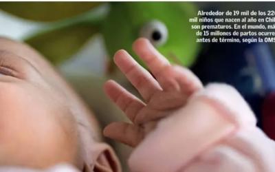 """Profesora Francisca Rojo en el Mercurio: """"Los partos prematuros se duplicaron durante las últimas dos décadas en el país"""""""