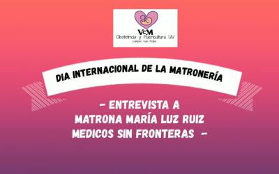 Entrevistas | Conmemoración del Día Internacional de Matronas y Matrones