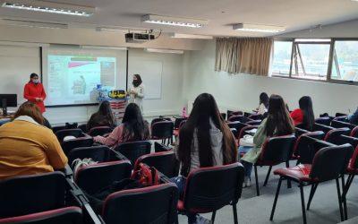 Inicio de clases híbridas de nuestra carrera en Reñaca en la Facultad de Medicina