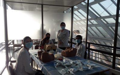 Inicio de talleres SIMUV cumpliendo los protocolos de trazabilidad y medidas de cuidados frente a Covid